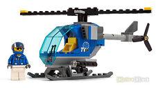 Lego ® City TV helicóptero/helicóptero de set 60097 centro de ciudad