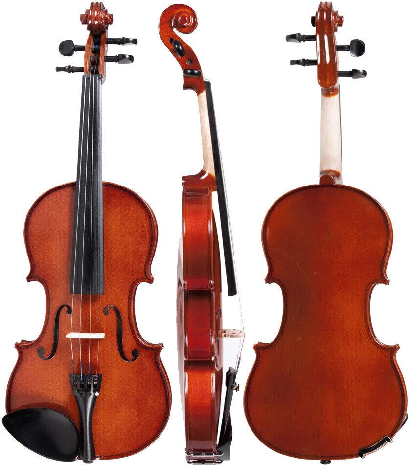 DE Geige (Violine) 3 4 M-tunes No.140 hölzern - spielbereit