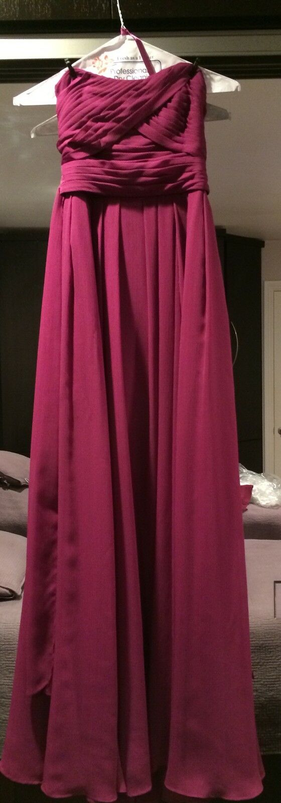 Women's Wine Long Evening Gown Size 2