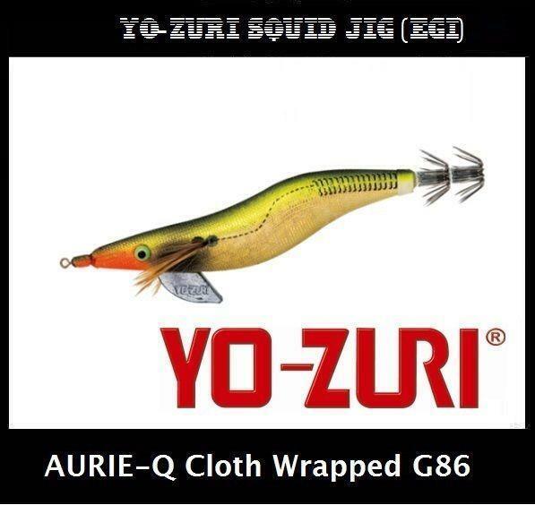 Yo-zuri Aurie-Q Cloth Wrapped Squid Jig Egi G86