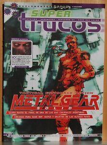 2019 DernièRe Conception Metal Gear Solid - Guia Completa - Super Trucos - Superjuegos Achat SpéCial