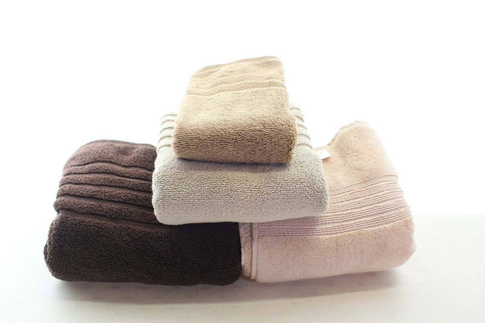 Hotel Collection 2 Bath Towels, 1 Mat, and 1 Hand Turkish Cotton L97598