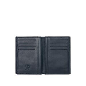 Nuvola-Pelle-Portafoglio-Uomo-16-Porta-Carte-di-credito-Verticale-in-Pelle-Blu