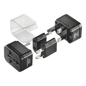 Insignia NS-TAPS5 Global Travel Adapter Kit Black