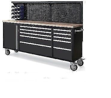 neilsen 84 inch (yes 7 feet long) toolbox tool chest on wheels ...
