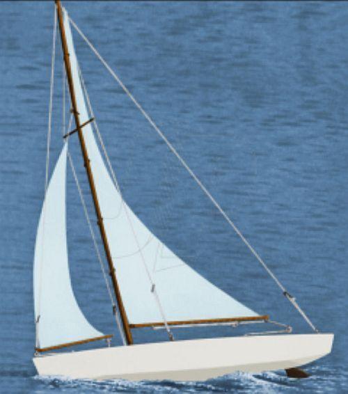 Dumas Boats Ace Racing Sloop Yacht Kit