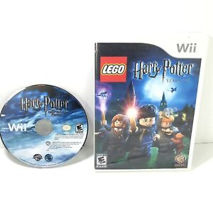 Lot Of 2 Wii LEGO Harry Potter Games: Years 1-4 & The Half-Blood Prince
