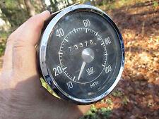 Saab VDO 0003 100mph Speedometer 73,376 miles Saab 96 V4 Sonett 1963 1964
