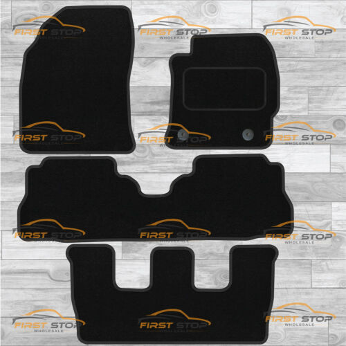 Toyotoa Prius Plus 2012-ON With 1 Piece Rear Mat Tailored Carpet Floor Mats