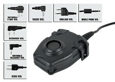 Z Tactical Peltor Headset Cable & PTT (Motorola Talkabout) Z112-MTA