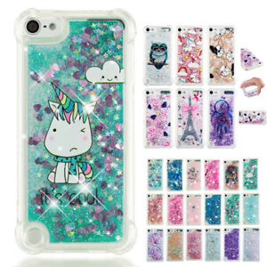 For-iPod-Touch-5th-6th-Gen-Shockproof-Pattern-Glitter-Quicksand-Soft-Case-Cover