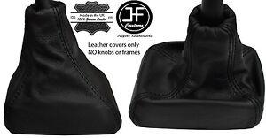 Black Stitch Leather Gear Gaiter Fits Vauxhall Opel Astra Mk2 Kadett E 84-91-afficher Le Titre D'origine Divers Styles