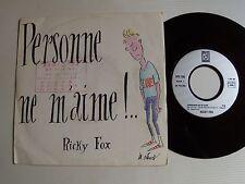 "RICKY FOX : Personne ne m'aime ! (Claude Barzotti) 7"" 45T doo wap DEESSE DPX 790"