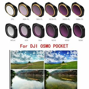 ND4//ND8//ND16//ND32//ND64 ND-PL CPL Camera Lens Filters Kits for DJI OSMO POCKET