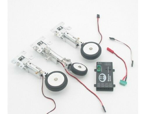 Taft-Hobby Full Metal Electric Retract Landing Gear Set For 90mm Viper & Cobra
