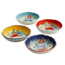 The Pioneer Woman Melody Pasta Bowls Set of 4 Spaghetti Linguine Serving Plates