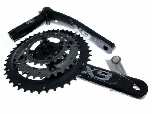 SRAM Truvativ X9 3x10 Speed MTB Bike Crankset 44//33//22t BB30//PF30 175mm w//BB