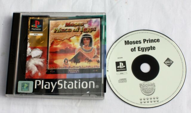 Moses Prince of Egypt (Sony PlayStation, 2000) - 8713399004819