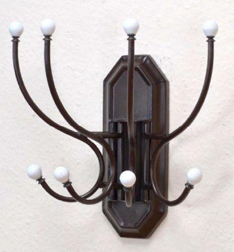 Wandgarderobe Metall Porzellan antik Garderobe Garderobenhaken Nostalgie   Meistverkaufte weltweit