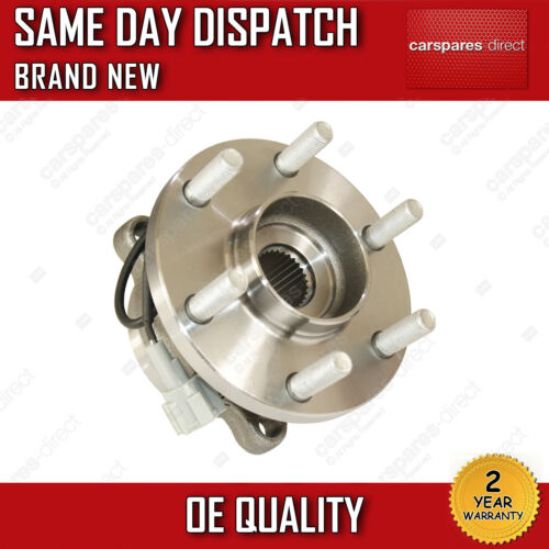 FRONT WHEEL BEARING FIT FOR A NISSAN NAVARA D40 2.5 dCi 2006/>ONWARDS *BRAND NEW*