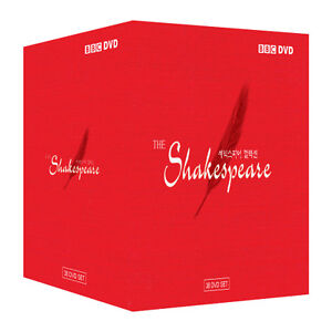 Image Is Loading Bbc The Shakespeare Collection 38 Dvd Box Set