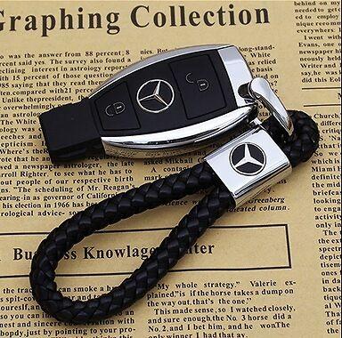 G,e,a Series Honesty Mercedes Key Ring Key Chain Car Key Holder Clk Cls
