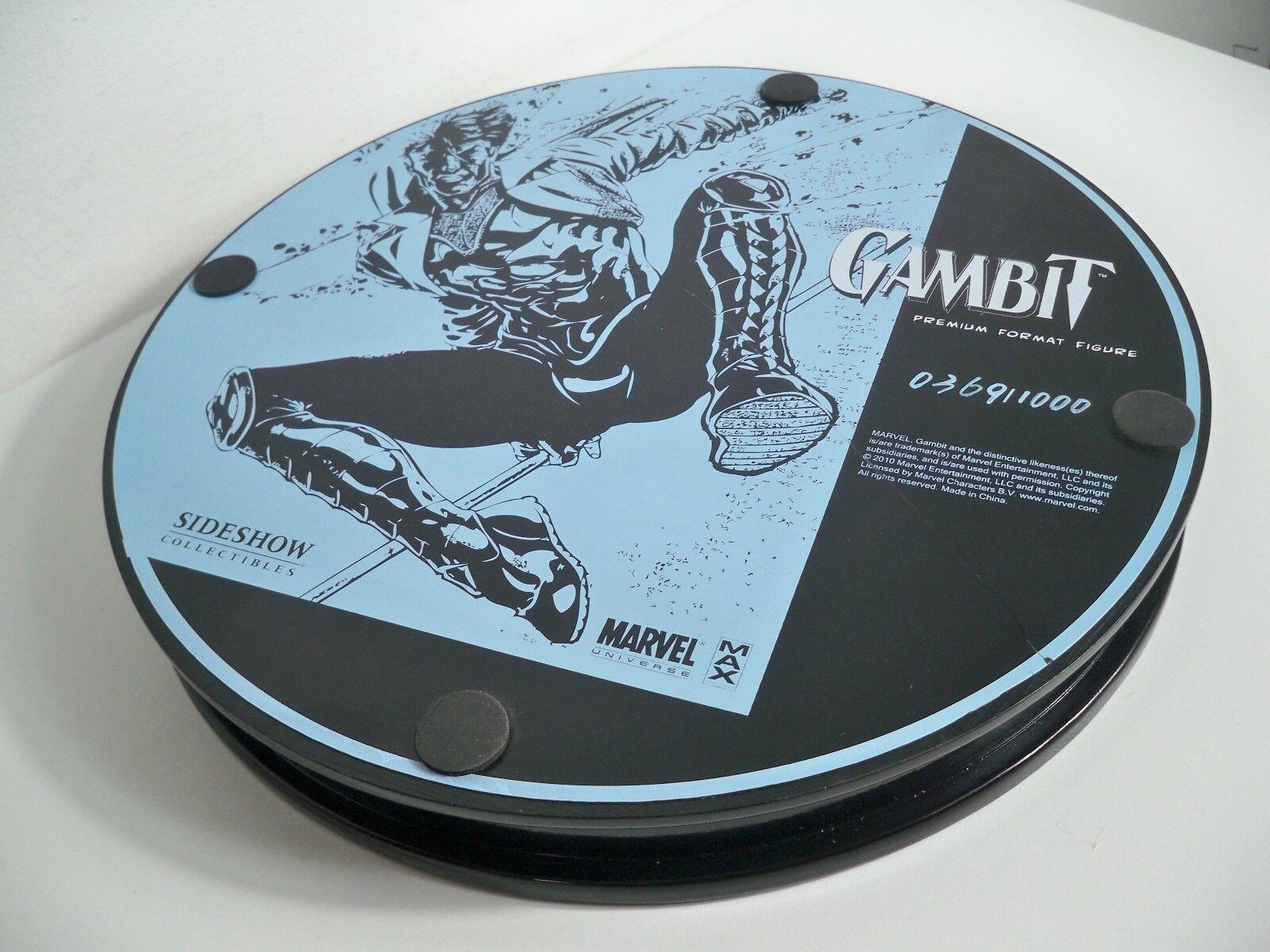 K18005901 GAMBIT X-MEN W scatola 2010 2010 2010 PREMIUM FORMAT SIDEmostrare COLLECTIBLES STATUE 29ecbd