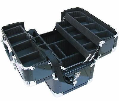 Fächerkoffer AM-1 38x24x31cm schwarz/black Werkzeugkoffer Angelkoffer Alukoffer