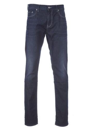 Mens Boss Hugo Jeans Bnwt Blend L34 Slim Fit Charleston Cotton X W34 Blue Dark qS55T1d