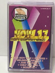 Now That's What I Call Music 17 cassette tape South Africa Import  Ultra Rare