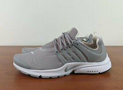 Nike Air Presto Essential Men's Sneakers Wolf Grey White ...