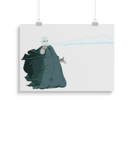 print wall art Harry Potter Lord Voldemort prints posters gift poster