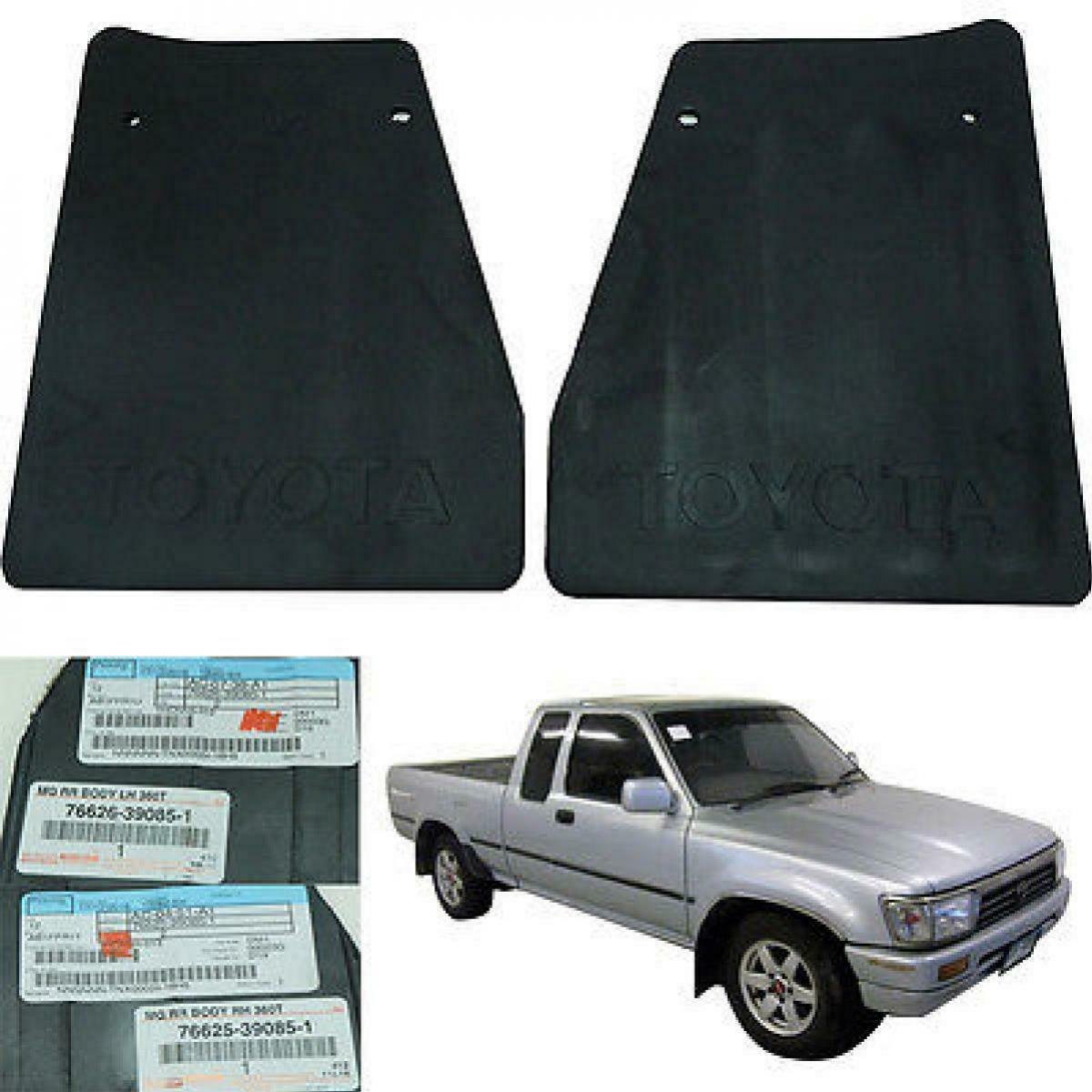 For 96-97 Toyota Hilux MK3 Mighty-x Pickup Mud Guard Splash Guard Rubber Rear