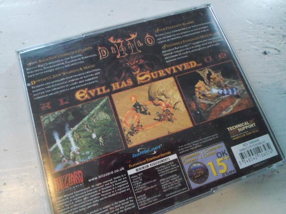 Diablo II, til pc, MMORPG