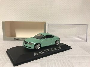 Minichamps-1-43-Audi-TT-Coupe-Geschenk-Modellauto-Modelcar-Scale-Model-Spielzeug