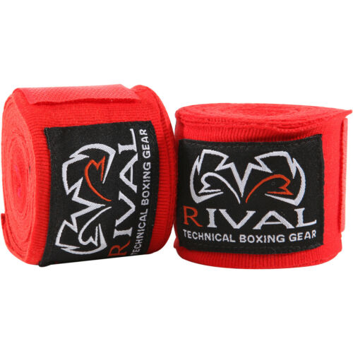 "Rival Boxing 150/"" Traditional Cotton Handwraps"