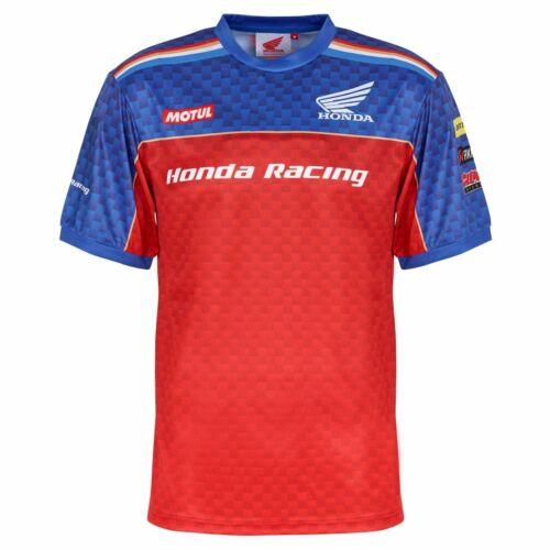 Honda Racing Team Print T-ShirtNew2019 Official Merchandise