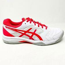 Asics Gel-Dedicate 6 White Laser Pink Womens Tennis Shoes 1042A067 102
