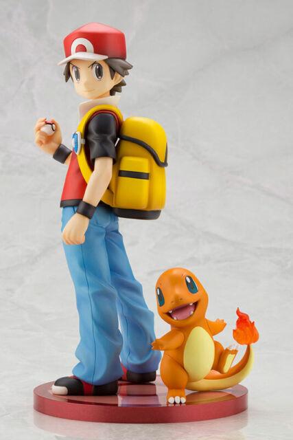 Kotobukiya ARTFX J Pokemon Red with Charmander 1/8 Complete Figure