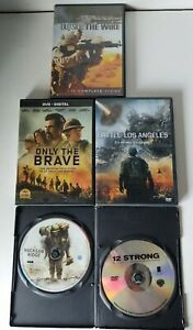 War Movies DVD LOT 5 Total Movies Only the Brave Outside ...