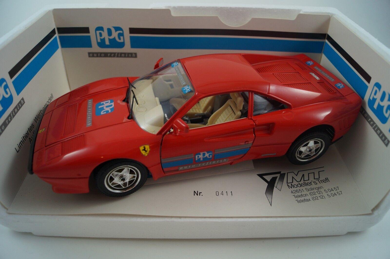 BBURAGO BURAGO voiture miniature 1 18 Ferrari GTO édition limitée 1000 pièces neuf dans sa boîte