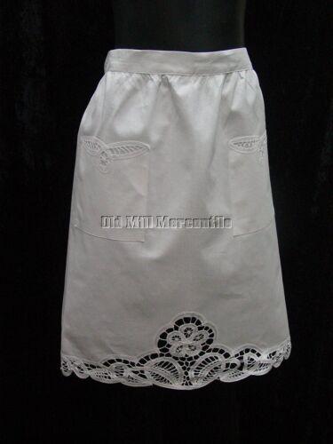 Batternburg Lace apron Victorian Edwardian Downton Abbey style apron