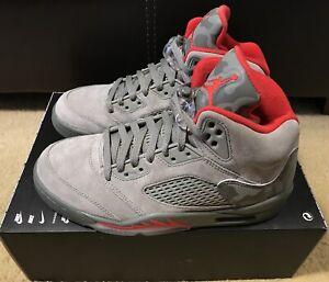 8c450f6c61393e Nike Air Jordan 5 Retro Reflective Camo Men s sz 7 Dark Stucco Red ...