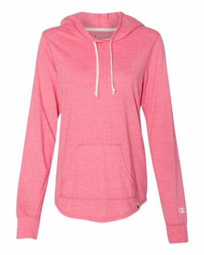 Champion Originals Womens Triblend Hooded Pullover Hoodie Sweatshirt New AO150
