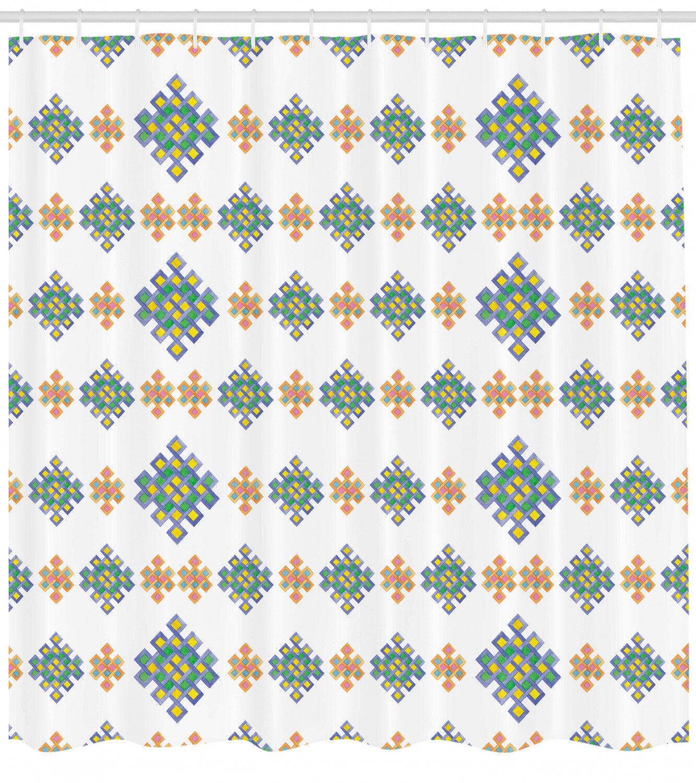 Celtic Shower Curtain Fabric Fabric Fabric Bathroom Decor Set with Hooks 4 Größes 0fcabf