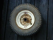 #105 Sears Craftsman Riding Lawn Mower Front Tire Wheel 13 x 5.00 - 6NHS