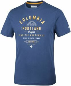 Columbia Leathan Trail Em0729469 T-shirt En Coton à Manches Courtes T-shirt Homme Toutes Tailles-afficher Le Titre D'origine Marchandises De Haute Qualité
