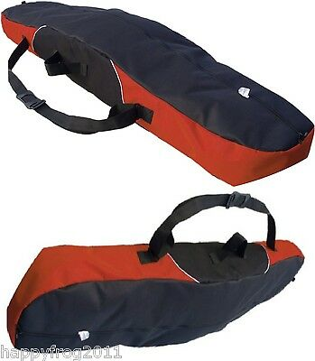 SNOWBOARD TRAVEL BAG SLEEVE CARRY CASE LUGGAGE 155cm 165cm Red WhiteStrip