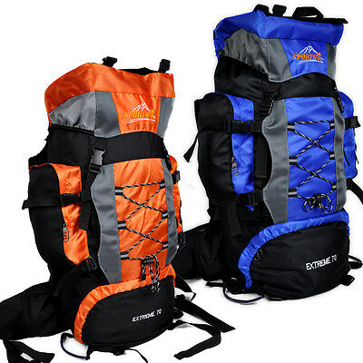 New 70L Waterproof  Packs Internal Frame Hiking Backpack for Climbing Rucksack