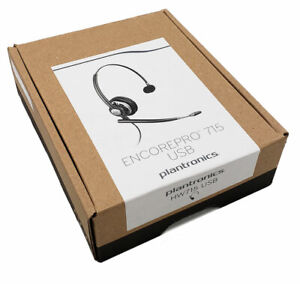 Plantronics-EncorePro-HW715-USB-Headset-203476-01-Brand-New-2-Yr-Warranty